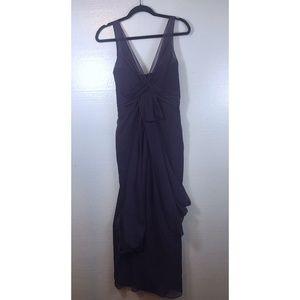 White By Vera Wang Size 4 Purple Bridesmaid Dress